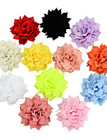 "cheap -Pins Hair Accessories Grosgrain Wigs Accessories Girls' 12pcs pcs 2 3/4"" (7 cm) cm Daily Wear Headpieces Adorable"