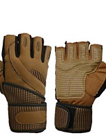 Недорогие -Подъемные перчатки С 1 pcs Эластан / силикагель / Полиэстер Регулируется Регулируется, Регулируется / Выдвижной, Износостойкий Для Пилатес / Фитнес / Танцы запястье Универсальные