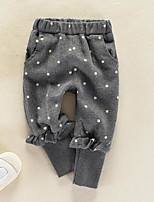 cheap -Toddler Girls' Basic Polka Dot Pants