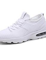 cheap -Men's Mesh Summer Comfort Sneakers White / Black / Red