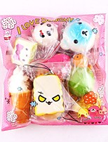 cheap -LT.Squishies Squeeze Toy / Sensory Toy / Stress Reliever Food Decompression Toys 10 pcs Adults Gift