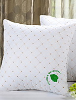 cheap -1 pcs Polyester Pillow, Solid Colored / Geometric Simple / Modern Style