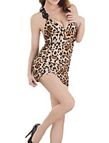 cheap -Women's Suits Nightwear - Mesh, Leopard