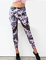 abordables -Mujer Diario Deportivo Legging - Geométrico Media cintura
