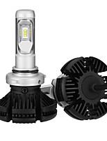 abordables -2pcs 9006 Bombillas 25 W LED Integrado 2500 lm 6 LED Luz de Casco 2018