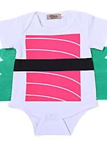 cheap -Baby Girls' Patchwork Short Sleeves Bodysuit