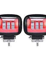 cheap -2pcs Car Light Bulbs 30 W Integrated LED 3000 lm 3 LED Exterior Lights For universal 2018