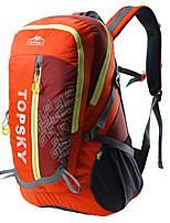 cheap -40 L Hiking Backpack - Anti-Slip, Wearable, Breathability Outdoor Hiking, Camping, Travel Orange, Green