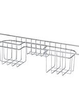 economico -Utensili da cucina Acciaio inossidabile Strumenti / Cucina creativa Gadget / drain Strumenti / Staffa / supporto Per utensili da cucina / Utensili innovativi da cucina 1pc