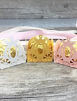 Недорогие -День рождения / Для вечеринки / ужина Розовая бумага Свадебные украшения Креатив Все сезоны