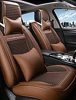 cheap -ODEER Car Seat Covers Seat Covers Coffee Textile Common for universal All years All Models