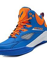 Недорогие -Мальчики Обувь Полиуретан Осень Удобная обувь Спортивная обувь Для баскетбола для Дети Синий / Черный / Красный