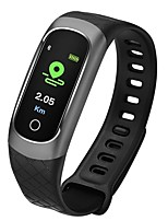 cheap -Smart Bracelet CB609 for iOS / Android 4.3 and above Heart Rate Monitor / Blood Pressure Measurement / Pedometers / Long Standby / Exercise Record Pedometer / Call Reminder / Sleep Tracker / 64MB