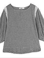 economico -T-shirt Per donna Per uscire A strisce