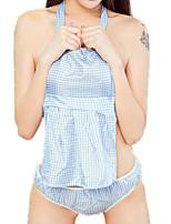 cheap -Women's Suits Nightwear - Mesh, Plaid