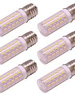 Недорогие -6шт 4 W 350 lm E17 LED лампы типа Корн 54 Светодиодные бусины SMD 4014 Новый дизайн Тёплый белый / Холодный белый 100-240 V