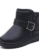 Недорогие -Мальчики Обувь Искусственная кожа Зима Удобная обувь / Зимние сапоги Ботинки для Черный / Розовый