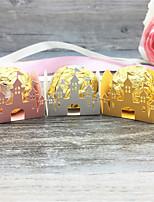Недорогие -День рождения / Для вечеринки / ужина Розовая бумага Свадебные украшения принцесса / Свадьба Все сезоны