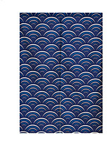 cheap -Door Panel Curtains Drapes Dining Room Geometric Polyester Printed