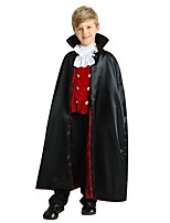 cheap -Cosplay Outfits Boys' Halloween / Carnival / Children's Day Festival / Holiday Halloween Costumes Black Solid Colored / Halloween Halloween