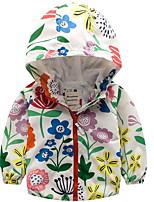 abordables -Bebé Chica Un Color / Floral / Fruta Manga Larga Traje y Blazer