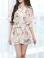 cheap -Women's Suits Nightwear - Print, Geometric