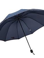 Недорогие -Полиэстер / Нержавеющая сталь Все Новый дизайн / Солнечный и дождливой Складные зонты