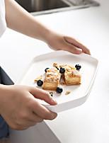 Недорогие -1 ед. Фарфор / Керамика Новый дизайн / Heatproof / Креатив Обеденные тарелки / Поднос / Стеклянная посуда, посуда