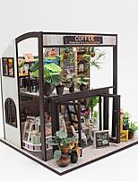 Недорогие -Кукольный домик Ручная работа / Взаимодействие родителей и детей Кафе Куски Для подростков Подарок