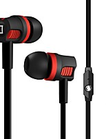 cheap -Factory OEM JM26 In Ear Cable Headphones Earphone ABS+PC Mobile Phone Earphone with Microphone Headset