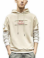 cheap -men's long sleeve hoodie - geometric hooded