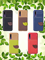 cheap -Case For Huawei Y6 (2018) / P20 lite Ultra-thin Back Cover Solid Colored Soft TPU for Huawei P20 / Huawei P20 lite / Mate 10 lite