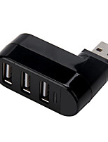 abordables -3 Hub USB USB 2.0 USB 2.0 Confortable Hub de datos