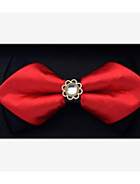 cheap -Unisex Party / Basic Bow Tie - Solid Colored Bow