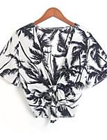 economico -T-shirt Per donna Essenziale Con stampe, Fantasia floreale