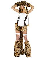 abordables -Pirates of the Caribbean / Pirata Disfrace de Cosplay / Tocados / Accesorios Mujer Halloween / Carnaval Festival / Celebración Disfraces de Halloween Negro Retazos Animal / Halloween