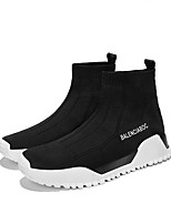 cheap -Men's Mesh Spring Comfort Sneakers Running Shoes White / Black / Red