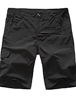cheap -Men's Hiking Shorts Outdoor Fast Dry, Quick Dry, Wearable Spandex Shorts / Bottoms Hiking / Outdoor Exercise / Multisport