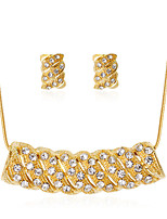 cheap -Women's Stylish Jewelry Set - Creative Stylish, European Include Drop Earrings / Necklace Gold For Wedding / Daily