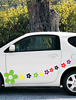 cheap -1# Car Stickers Cartoon Door Stickers Plants Stickers