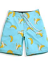 cheap -Men's Swim Shorts Ultra Light (UL), Quick Dry, Breathable Spandex / POLY Swimwear Beach Wear Board Shorts / Bottoms Surfing / Beach / Watersports
