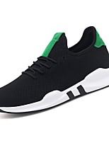 cheap -Men's Synthetics Summer Comfort Sneakers White / Black / Black / Green