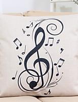 cheap -1 pcs Cotton / Linen Pillow, Pattern Patterned