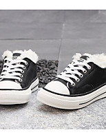 cheap -Boys' / Girls' Shoes Cowhide Winter Comfort Sneakers for White / Black