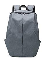 Недорогие -Универсальные Мешки Полиэстер рюкзак Молнии Серый