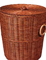 cheap -Wicker Round Cool Home Organization, 1pc Storage Baskets