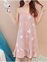 abordables -U Profond Body Pyjamas Femme Couleur Pleine