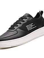 cheap -Men's PU(Polyurethane) Fall Comfort Sneakers White / Black