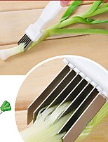 cheap -Kitchen Tools Stainless steel Home Kitchen Tool Cutters / Slicer Vegetable / Cucumber / Onion 1pc
