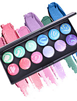 cheap -MISS ROSE 2 Eye Shadow / Makeup Tools / Powders EyeShadow Easy to Carry / lasting Waterproof Natural Daily Makeup / Halloween Makeup / Party Makeup Makeup Cosmetic